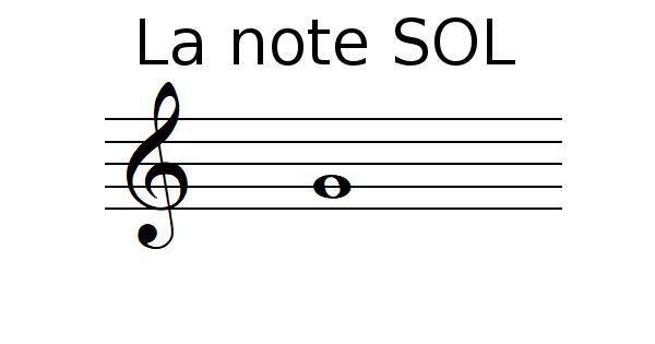 La note SOL