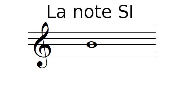 La note SI
