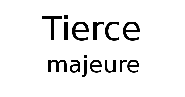 Tierce majeure