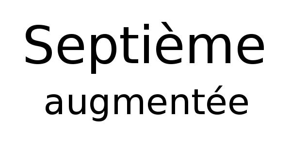 Septième augmentée