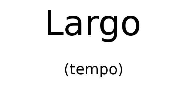 Largo (tempo)