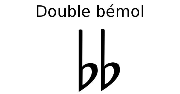 double bémol