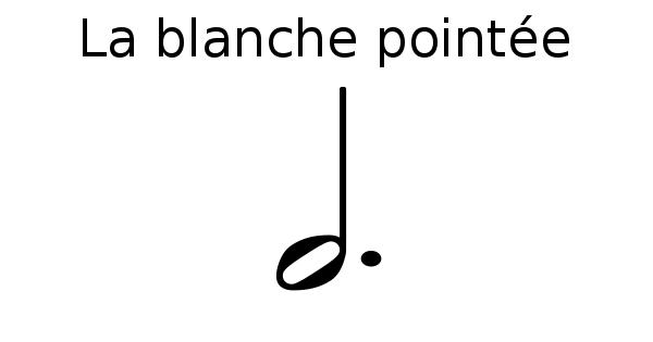 La blanche pointée