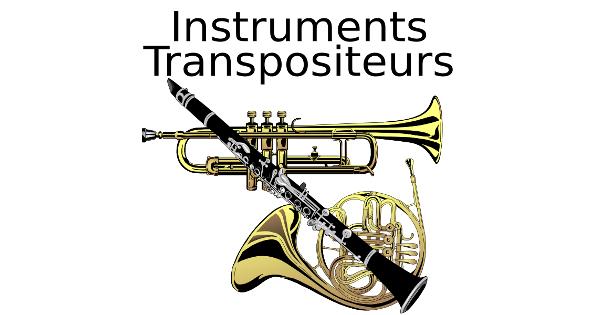 Les instruments transpositeurs
